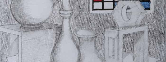 Still life with Mondrian