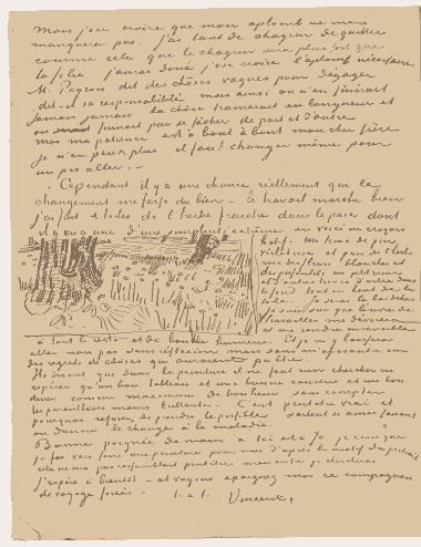 Vincent-Van-Gogh-Tree drawings-12