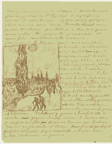 Vincent-Van-Gogh-Tree drawings-13