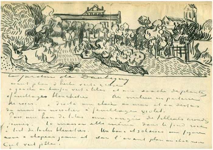 Vincent-Van-Gogh-Tree drawings-14