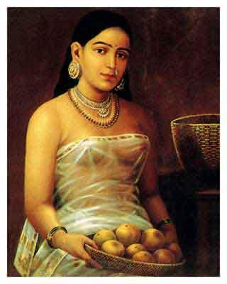 saraswathi ravi varma painting