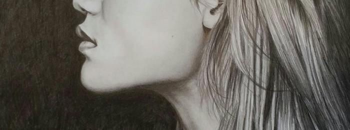 Hyper-realistic portrait by Dawn Safarik