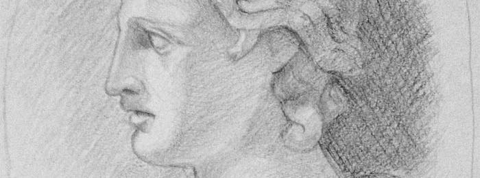 Portrait drawing by Scarleette