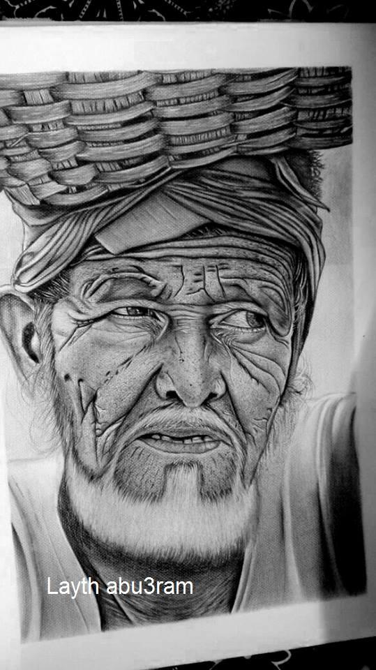 Drawing by Layth Abuarram