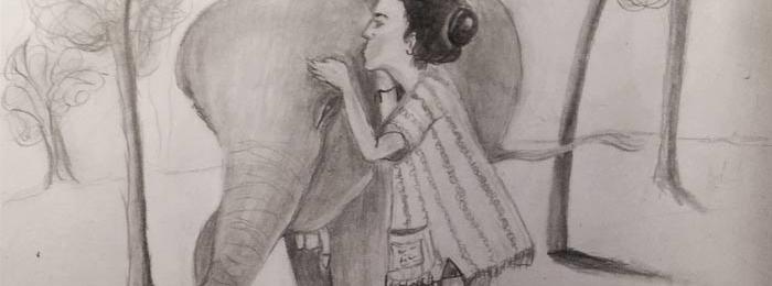 Drawing by Alberto Gonzalez