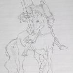Drawing by Ekundayo Femi