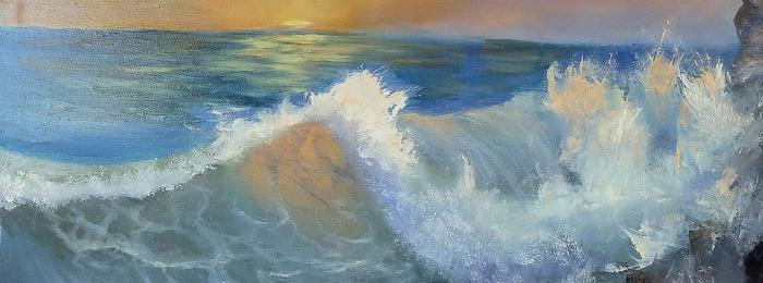 Painting by Vladimir Burchakov