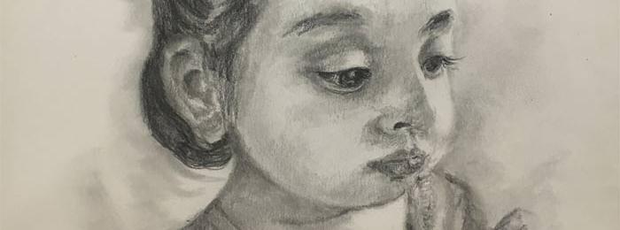 Drawing by Hina Dharamsey