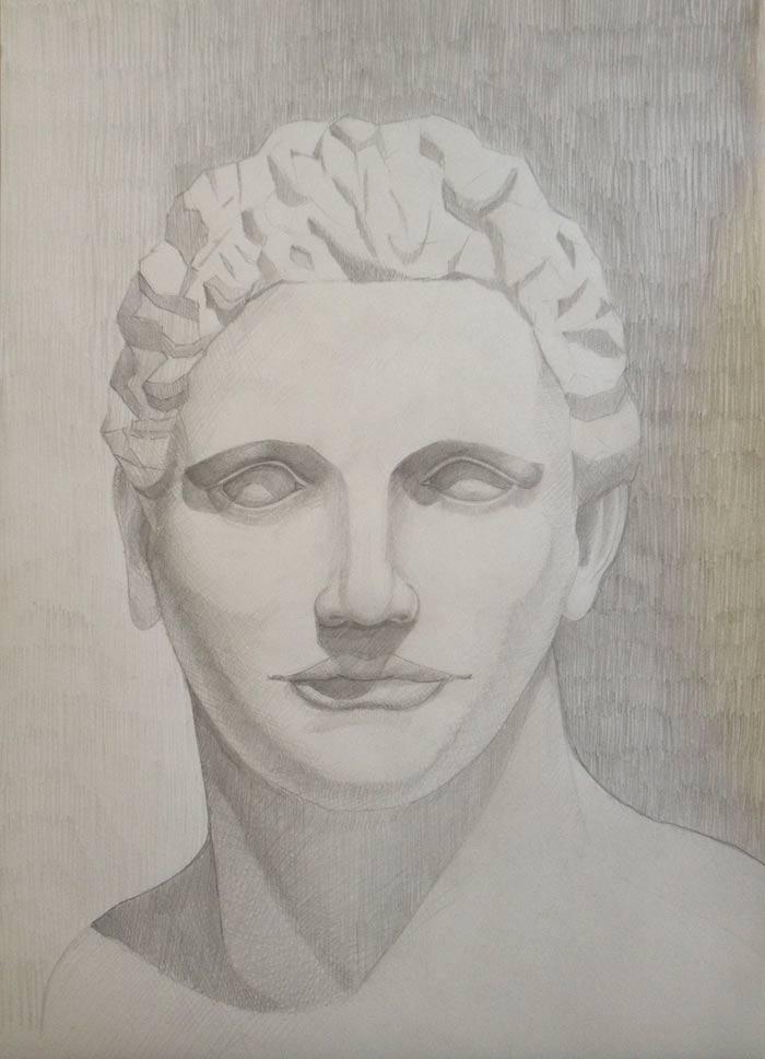 Artwork by Nikola, Drawing Academy student