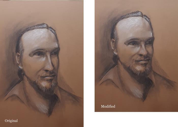 Portrait Drawing Critique