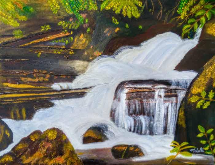 Painting by Malathi Venkat