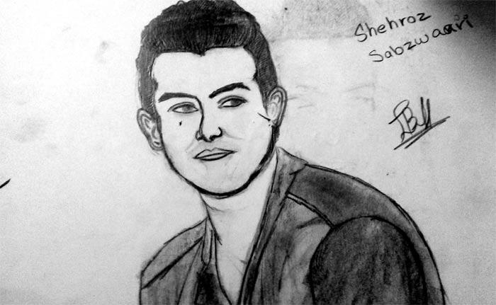 Sketch by Javeria Baloch