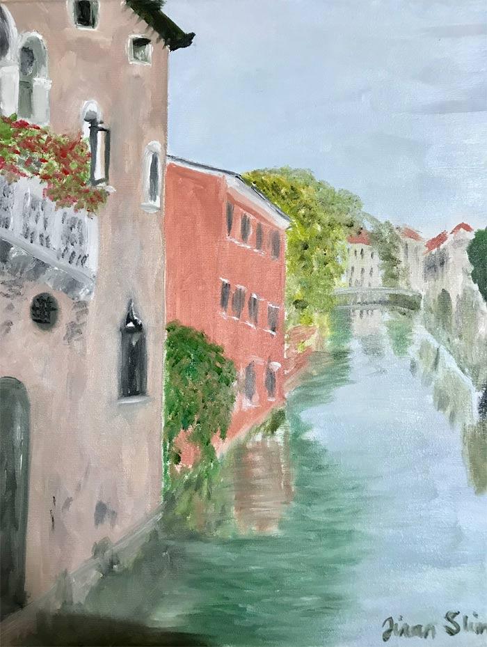 Painting by Jinan Slim