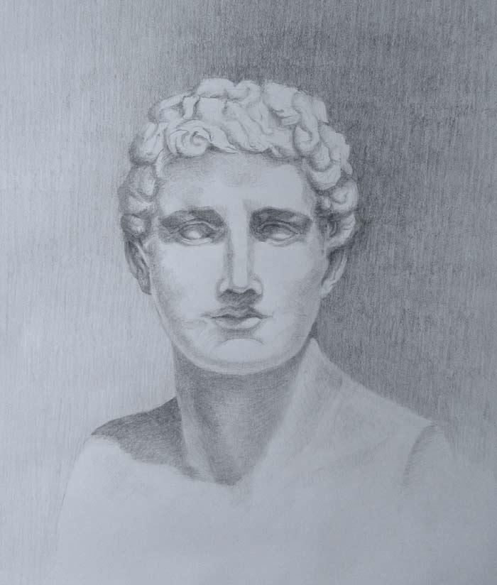 Classical portrait by Zora