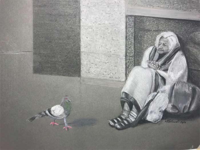 Artwork by Aurorah Kelevh