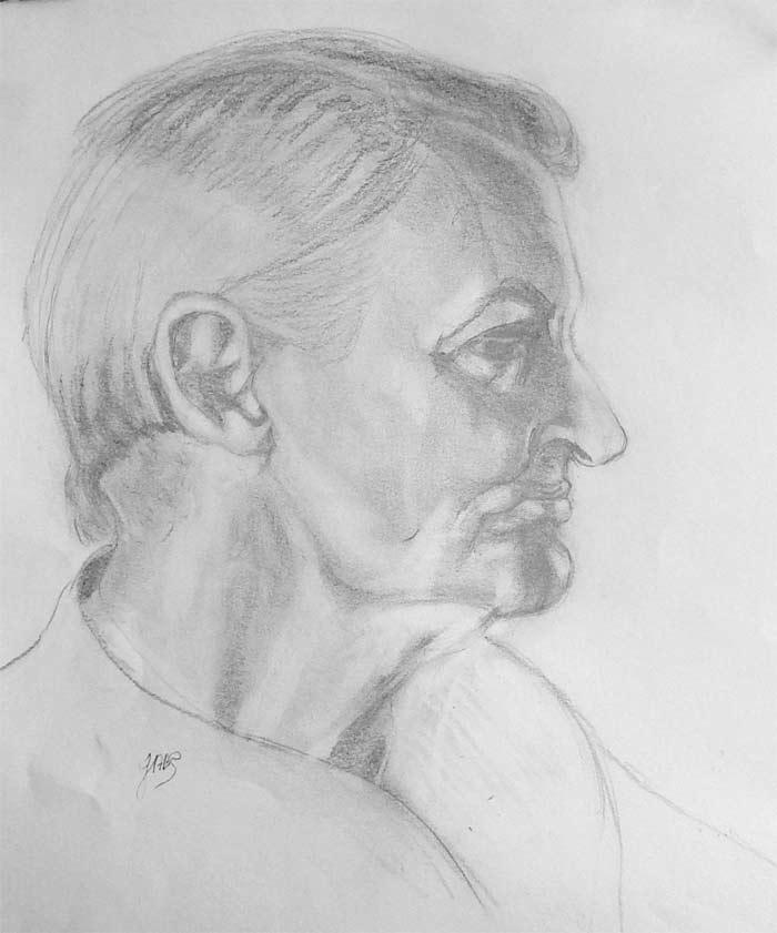 Portrait by Judith Robinson