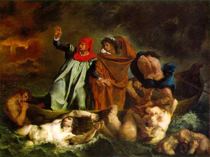 Delacroix-The-Barque-of-Dante