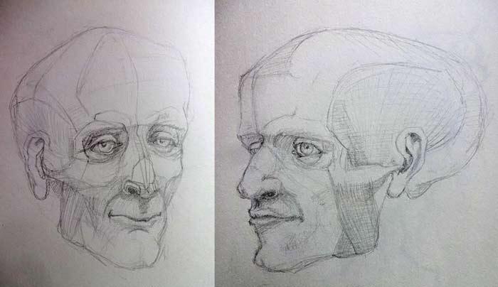 Portrait studies critique