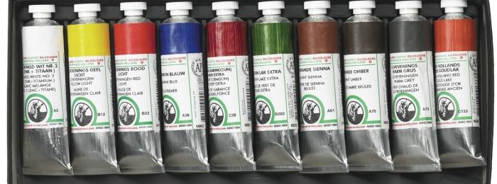 Sourcing Transparent Artist's Oil Paints & Materials