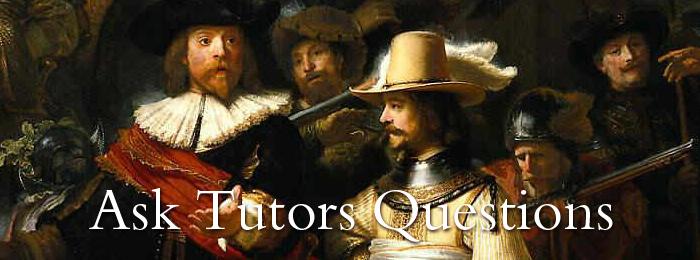 Ask Tutors Questions