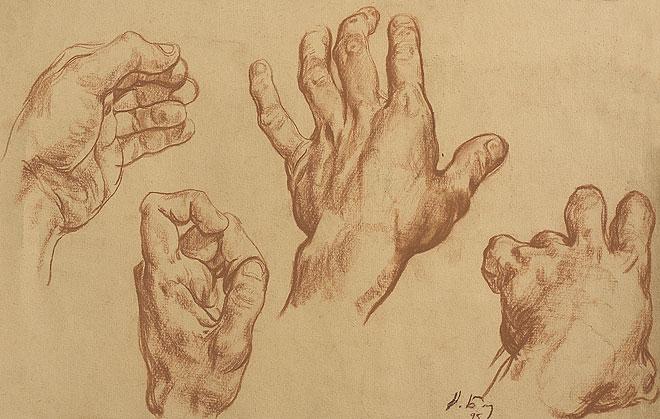 Nikolai Blokhin Drawing