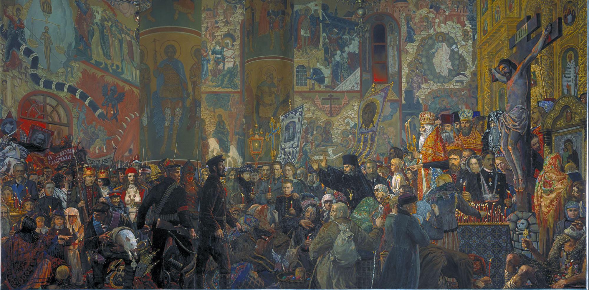 Resultado de imagen para ilya glazunov paintings