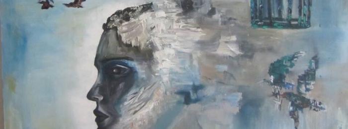 Escape ( oil on canvas )