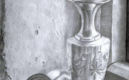 Still-life drawing by Rabin