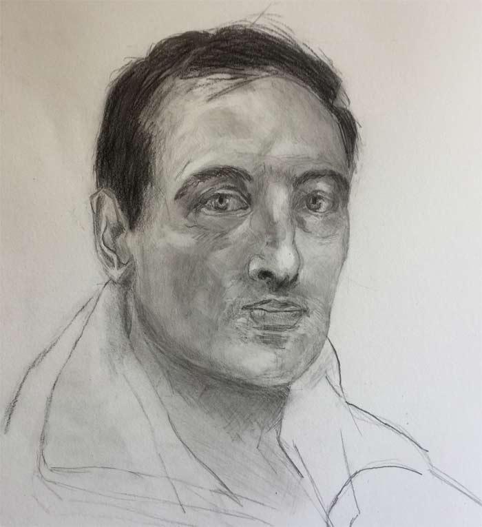 Drawing by Daniel B Sibley