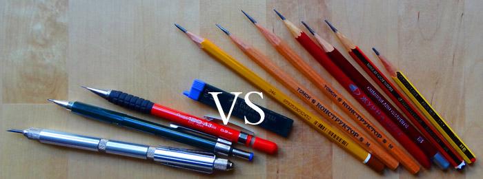 Mechanical Vs Wooden Pencils Smoke Signals