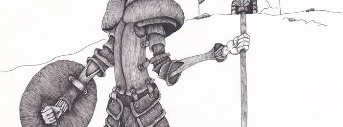 Drawing by Marta Lopez-Bravo