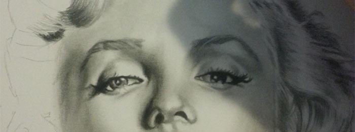 Portrait drawings by Andreea Popovici