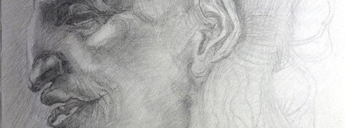 Copying master's drawings