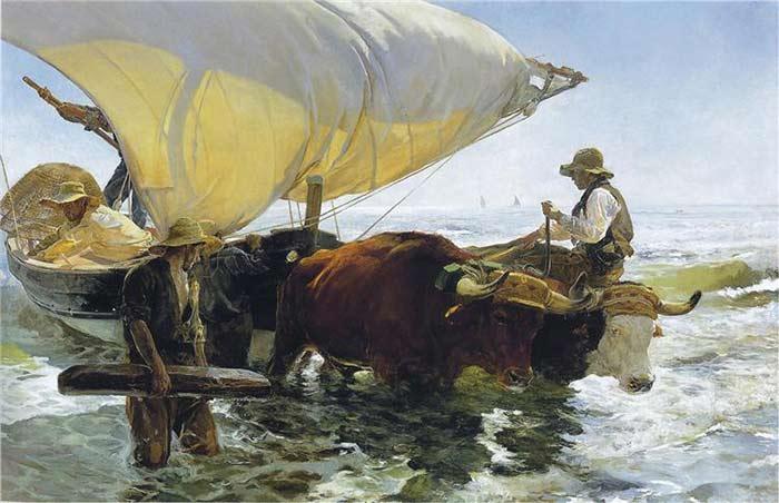 Joaquin Sorolla painting