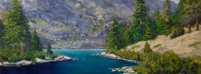Painting by Vyacheslav Kuzmin