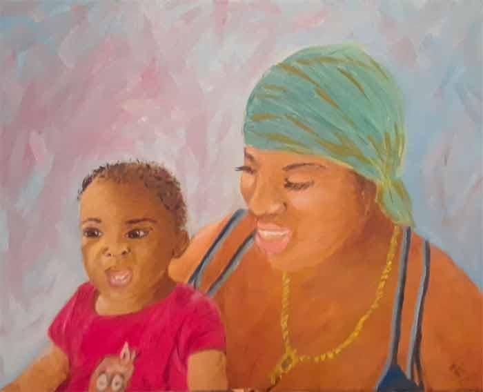 Artwork by Frances White