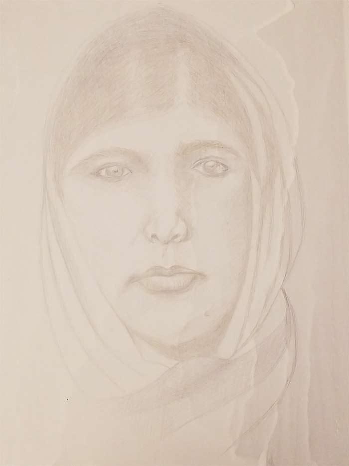 Drawing by Wayne Allen