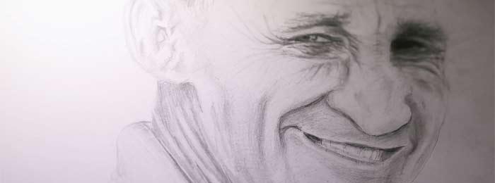 Portrait Drawing by Stephen Keeling