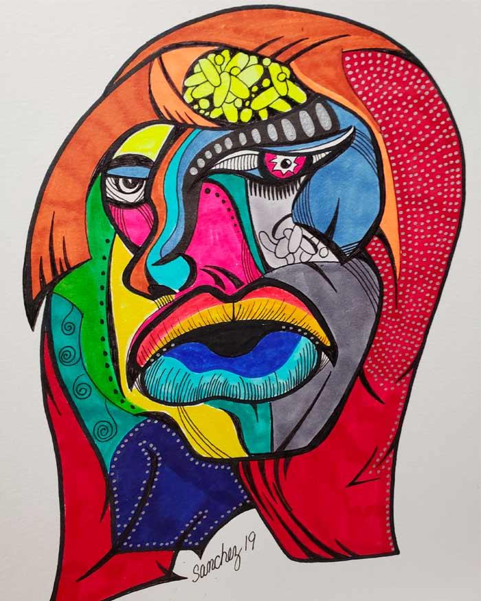 Artwork from Carlos Plazaa