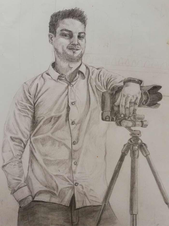 Drawing by Aileen Durkan