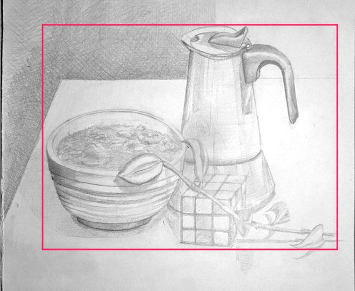 Still-life Drawing Critique