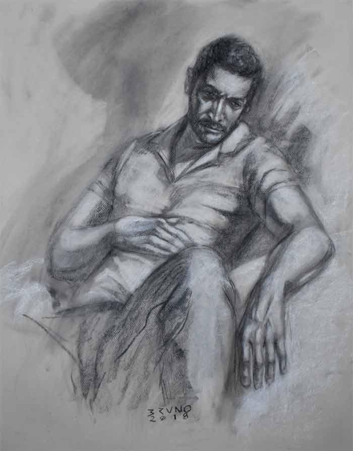 Drawing by Bruno Godoy