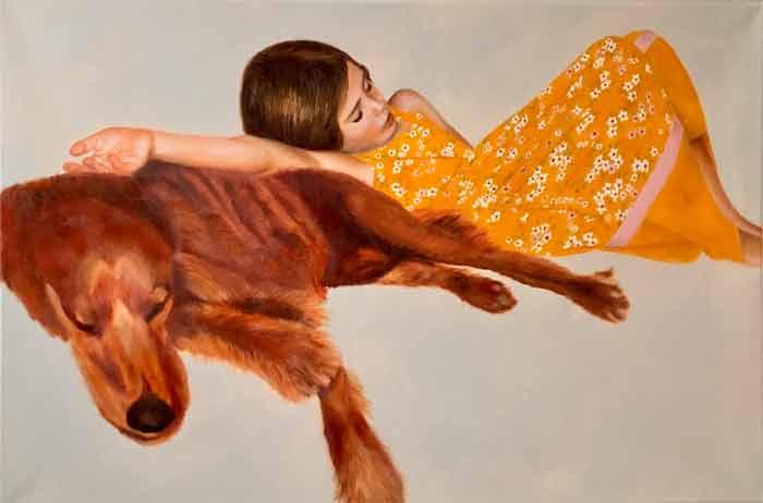 SIESTA oil painting