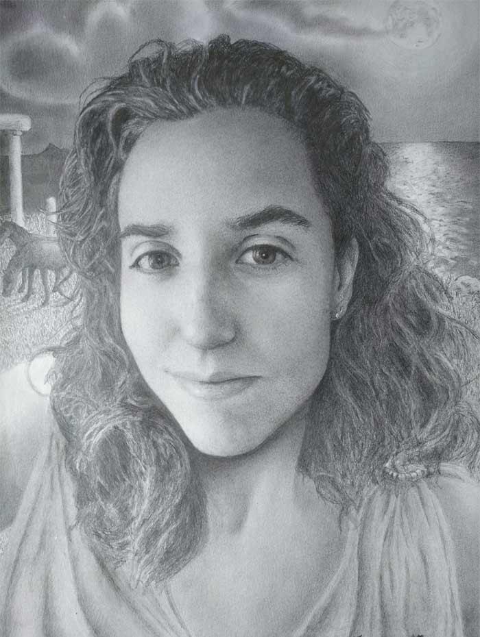 Portrait from a broken heart