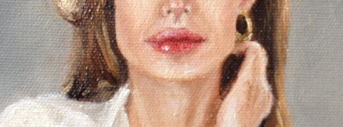 Portrait of Angelina